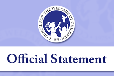 Statement of the Council for the Welfare of Children Secretariat on the finalization of the bill lowering the minimum age of criminal responsibility