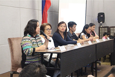 Children and adults appeal in Multi-Sectoral Forum why positive discipline matters
