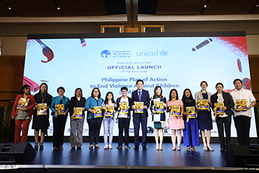 CWC, UNICEF, partner agencies launch 1st PH plan to end violence against children